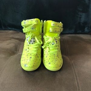 Melody Ehsani Lime Green HighTop Sneakers